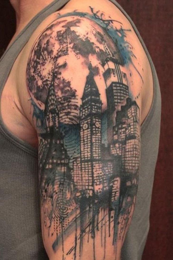 Для мужчин - Тату эскизы Галерея идей для татуировок Фото эскизов 90