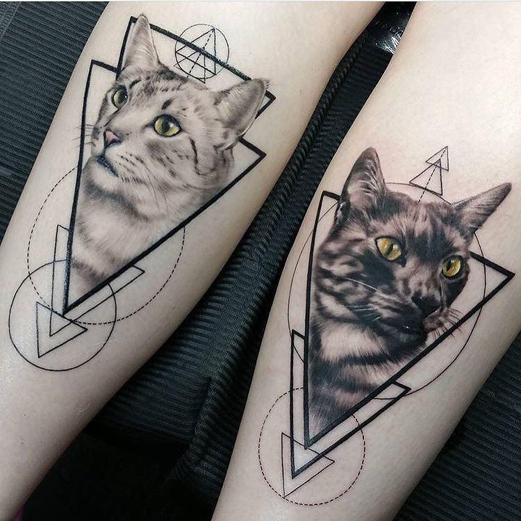 Triangle and Geometric Tattoos - Tattoo.com