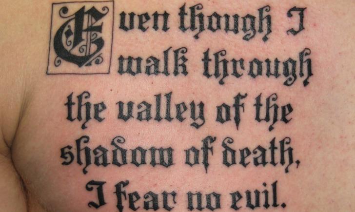 15 Most Inspirational Scripture Tattoos - Tattoo.com