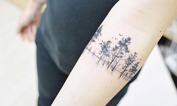 Delicate nature tattoos for Delicate wrist tattoo designs