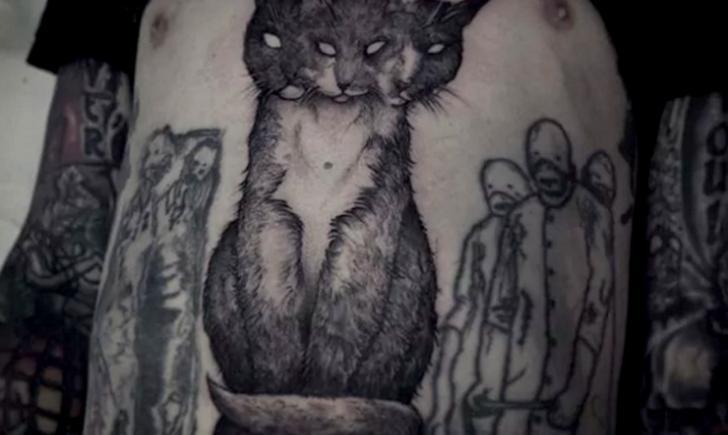 10 dark goth tattoos for Gothic city tattoos