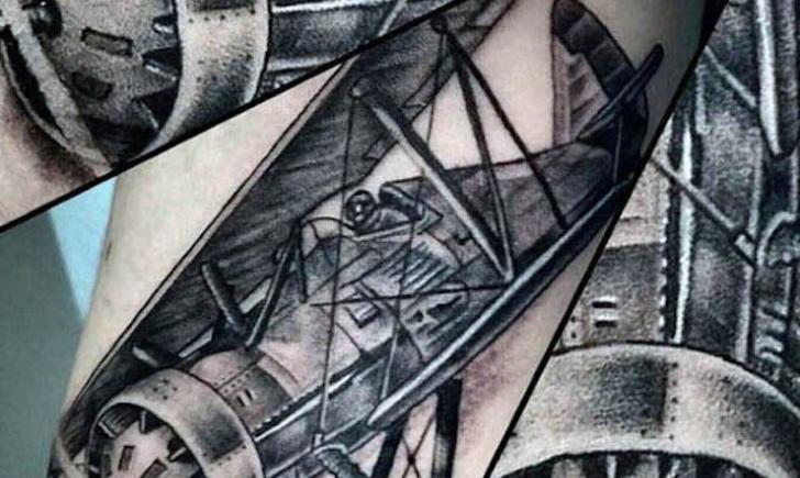 10 Amazing Airplane Tattoo Ideas Tattoo Com