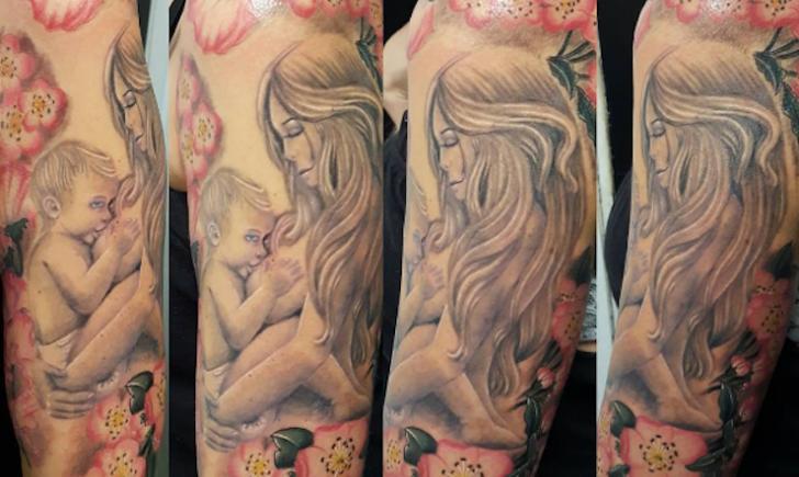 10 Badass Breastfeeding Tattoos Tattoo Com