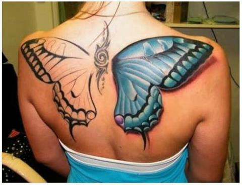 Butterfly Tattoo Designs Are Among The Sexiest And Most Feminine Tattoo Designs Out There Today Butterfly Tattoos Come In An Array Of Shapes Sizes