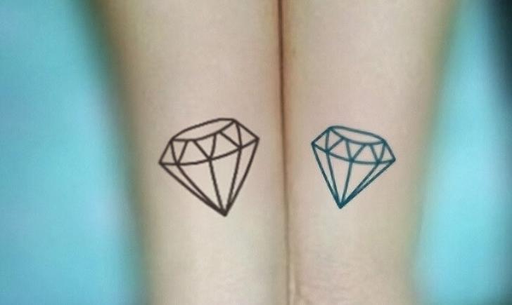 10 Shiny Diamond Tattoos Tattoocom