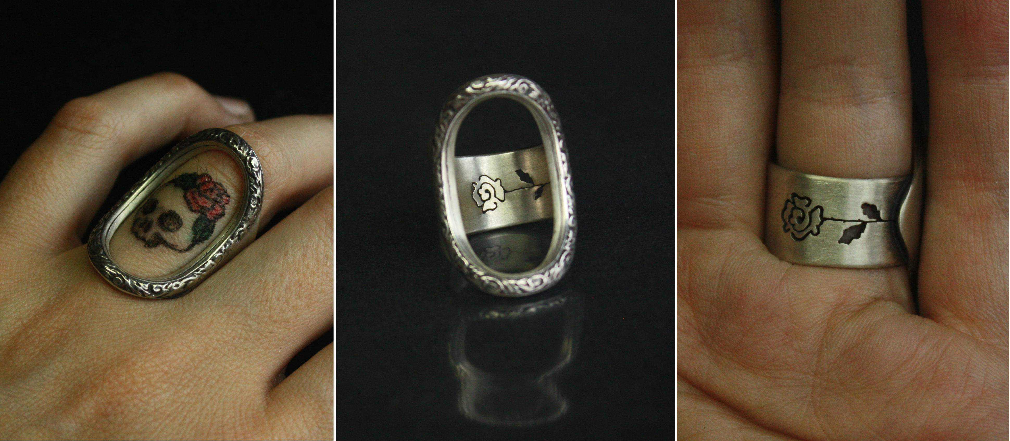 oval frame tattoo design victorian style oval frame ring for finger tattoo with custom personalized silhouette cut out details on the back of ring that matching your tattoo jewelry design put ring it