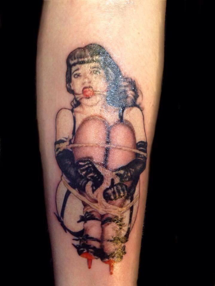 Bondage and tattoo commit error