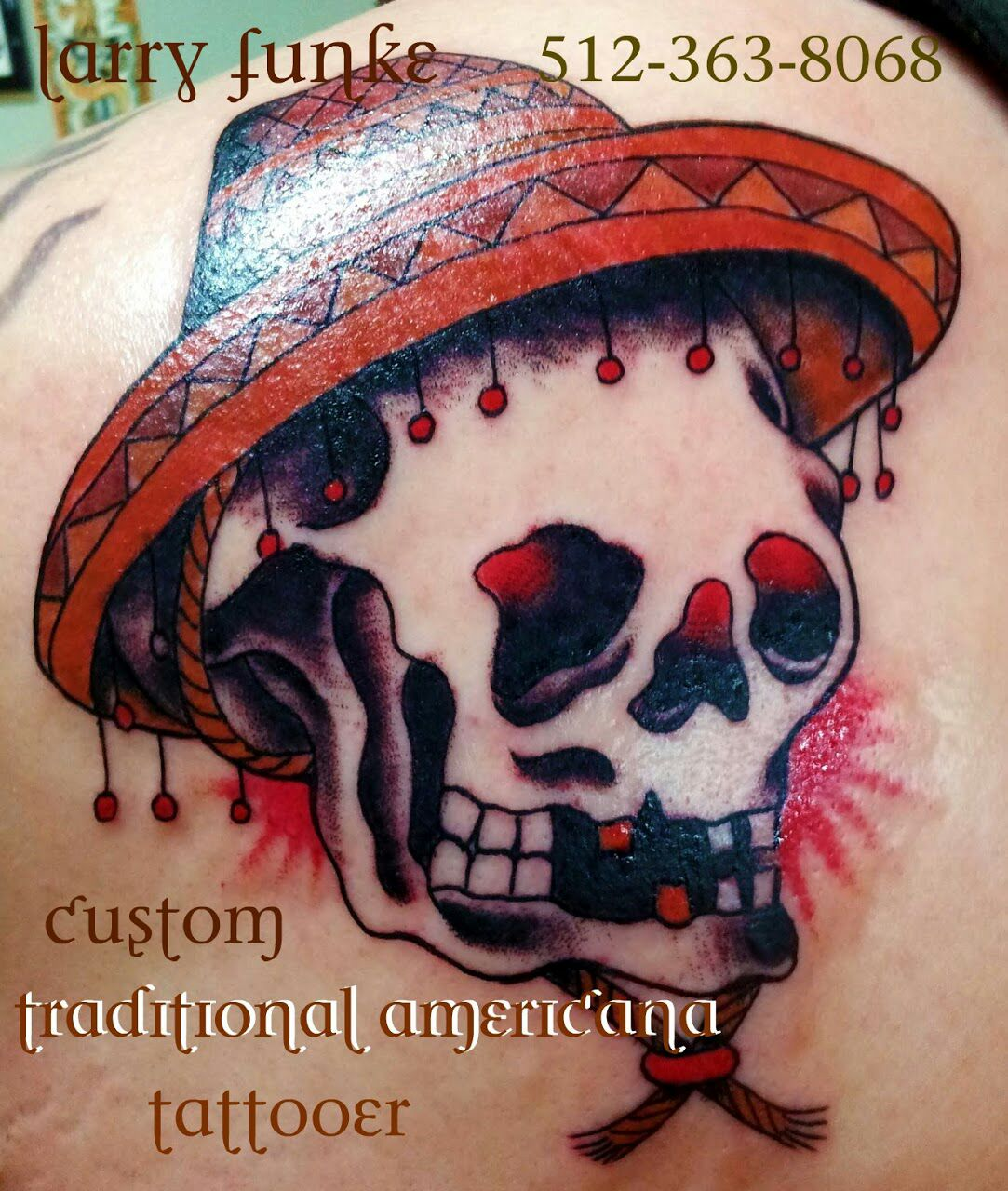 This Is El Guapo The Handsome Skull In A Sombrero