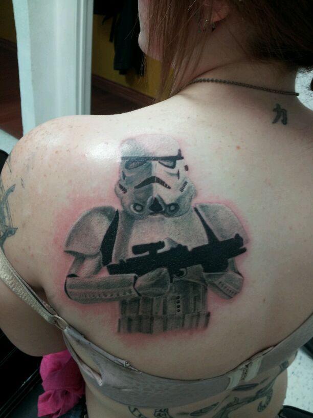 Storm Trooper Tattoocom
