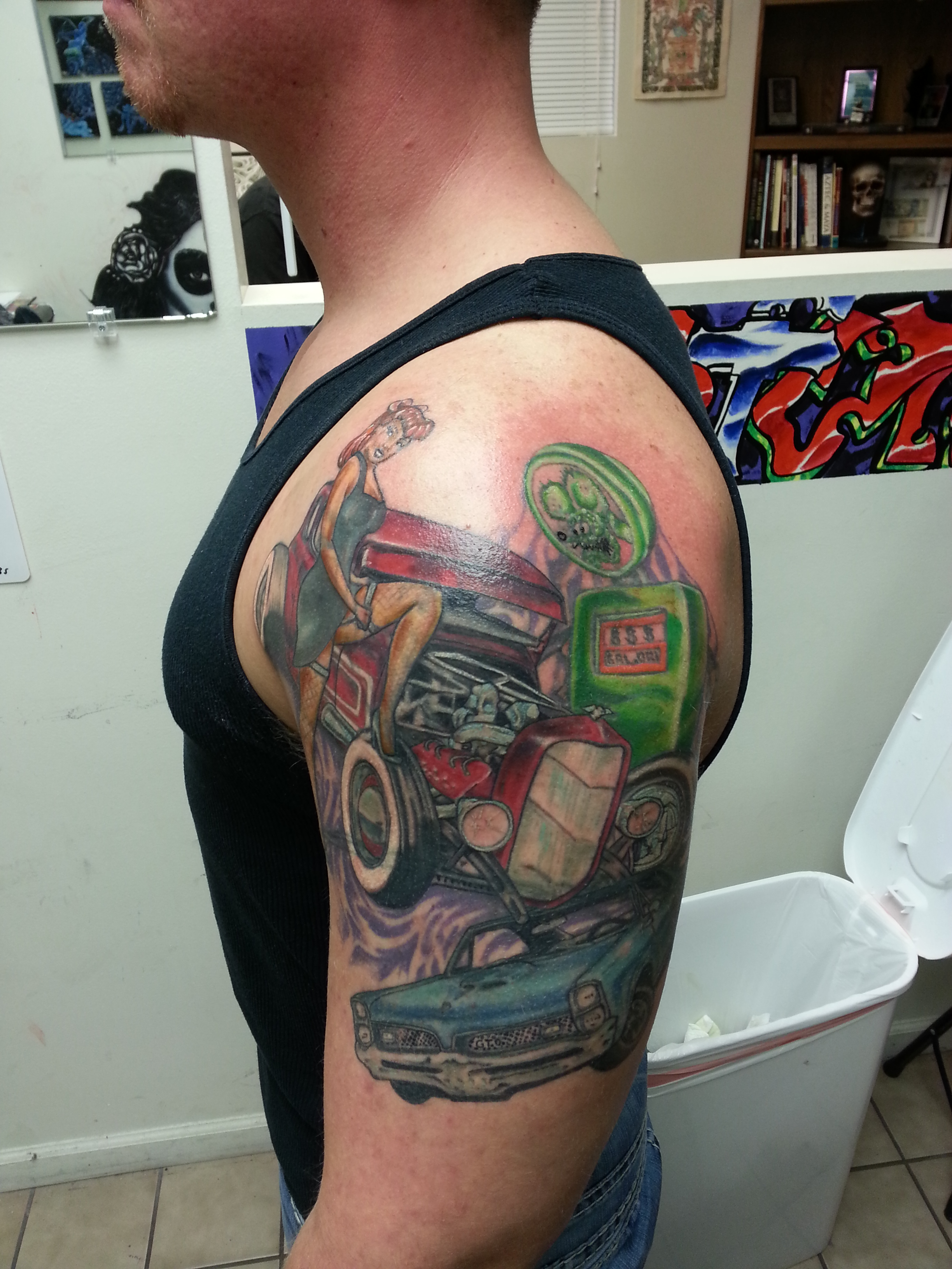 rockabilly mash, cover up - Tattoo.com