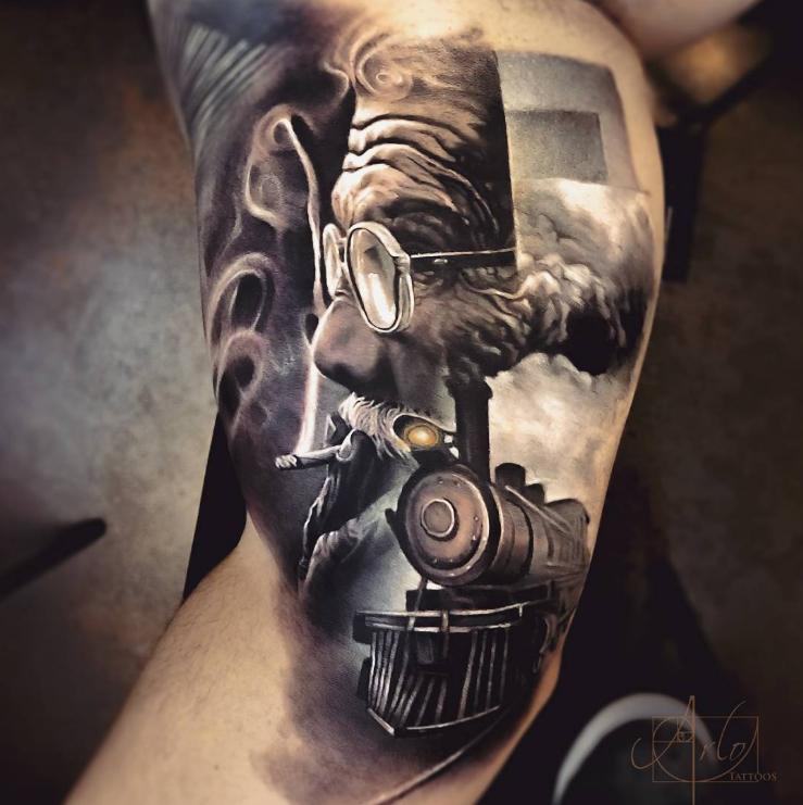 Arlo Di Cristina Arm Tattoo: Created By Arlo DiCristina