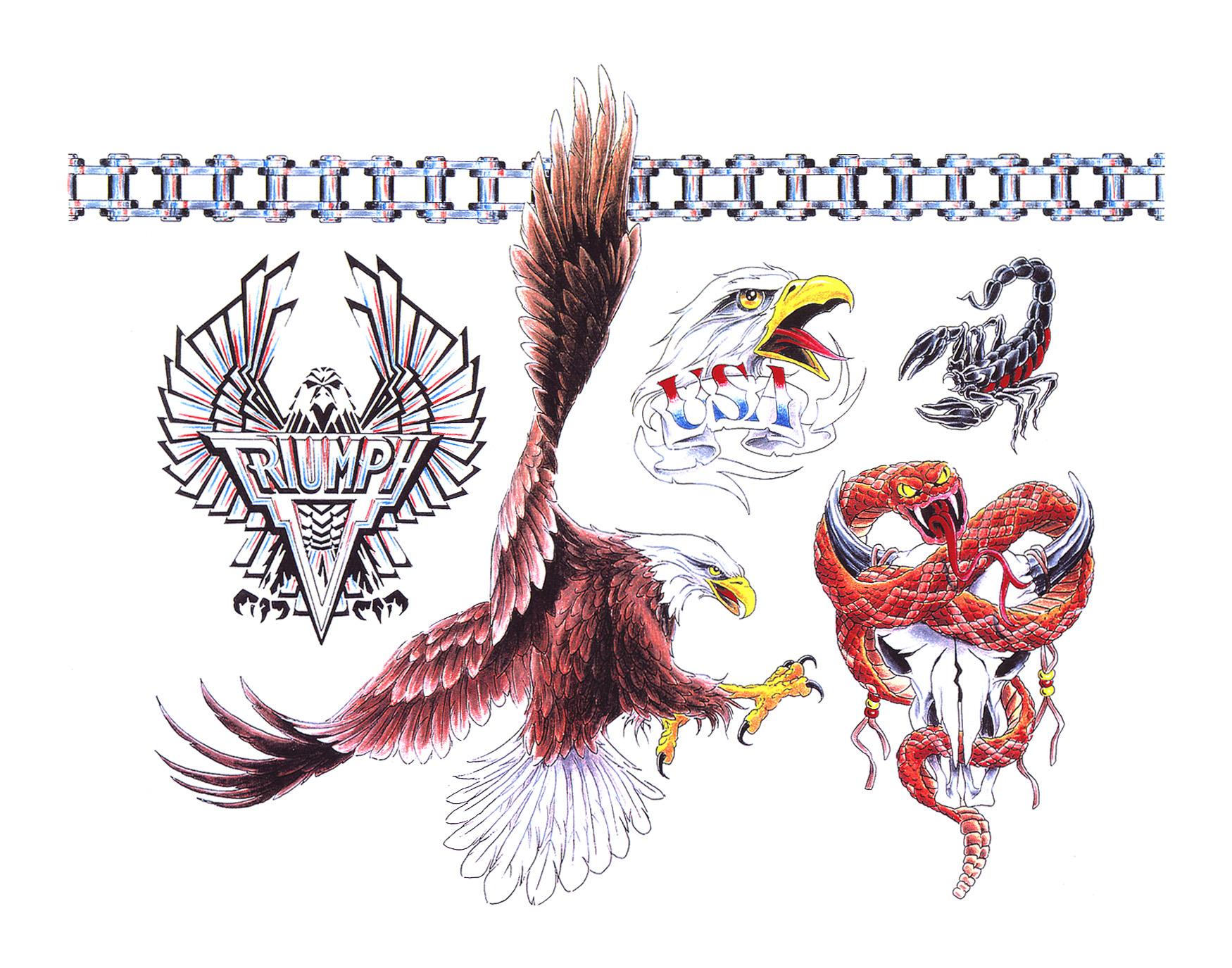 Catalogo Tattoo 2017 biker tattoo design - tattoo