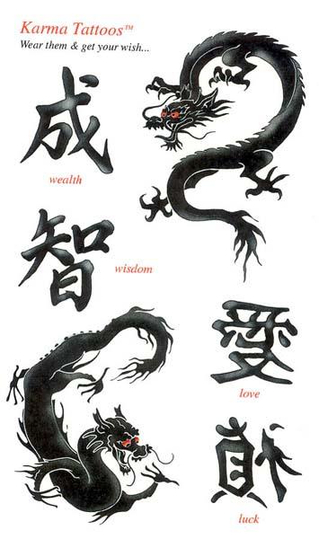 Chinese Symbol Tattoo Design Tattoo