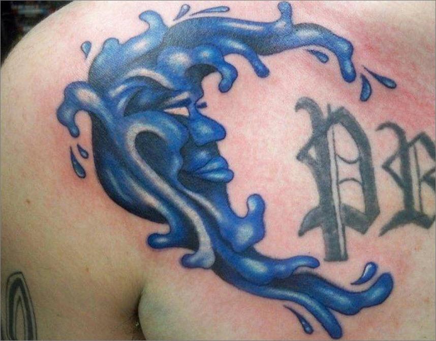 Blue Moon Tattoo By Alex Teacher Tattoocom