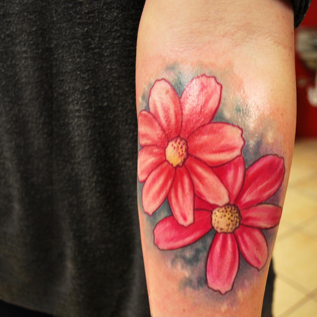 Color tattoo by muecke - Tattoo.com