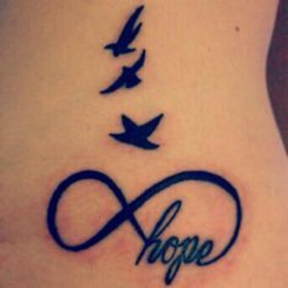 Small Little Tat Zapper From Tate Infinity Symbol With Hope In A