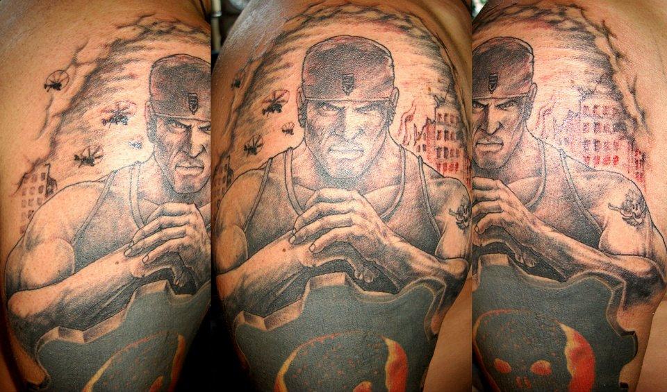 Gears of War - Tattoo.com