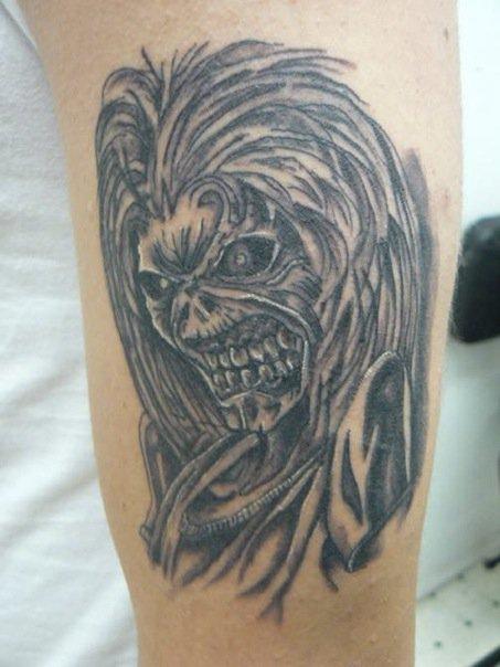 Designs eddie tattoo iron maiden IRON MAIDEN