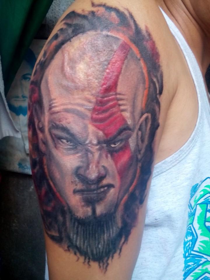 God Of War Kratos Tattoo Com