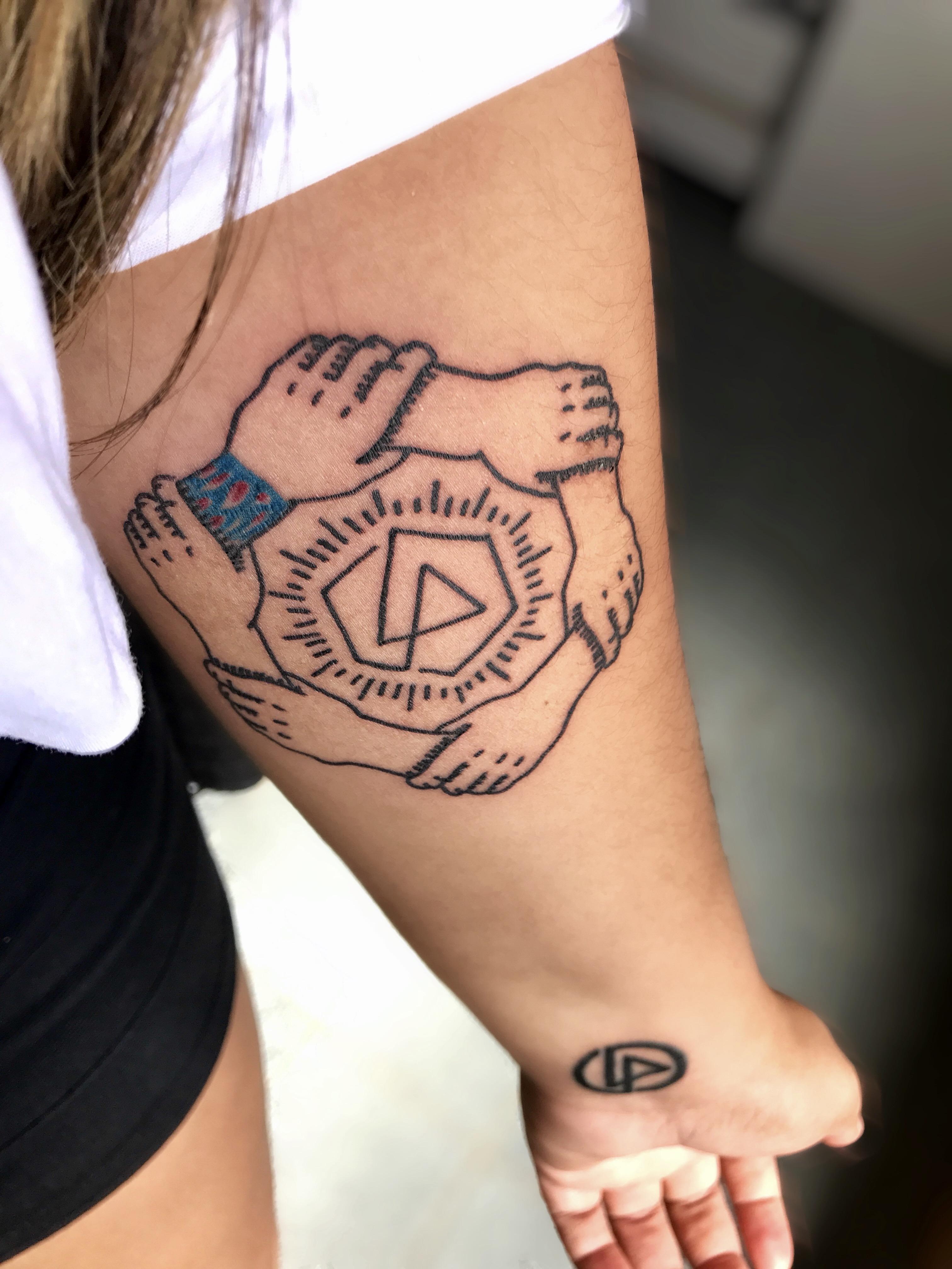 My Linkin Park S Tattoos Tattoo Com