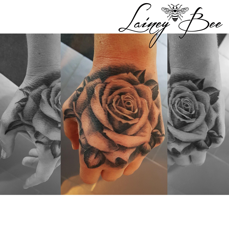 Rose On Hand Tattoocom