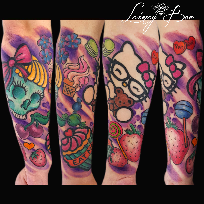 Tribal Hello Kitty: Tattoo Pics