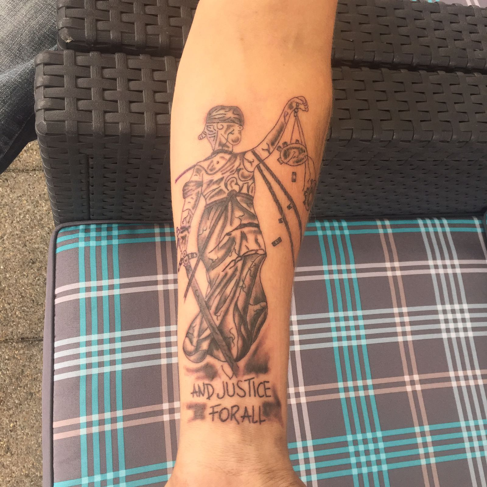 Metallica And Justice For All Tattoo Com
