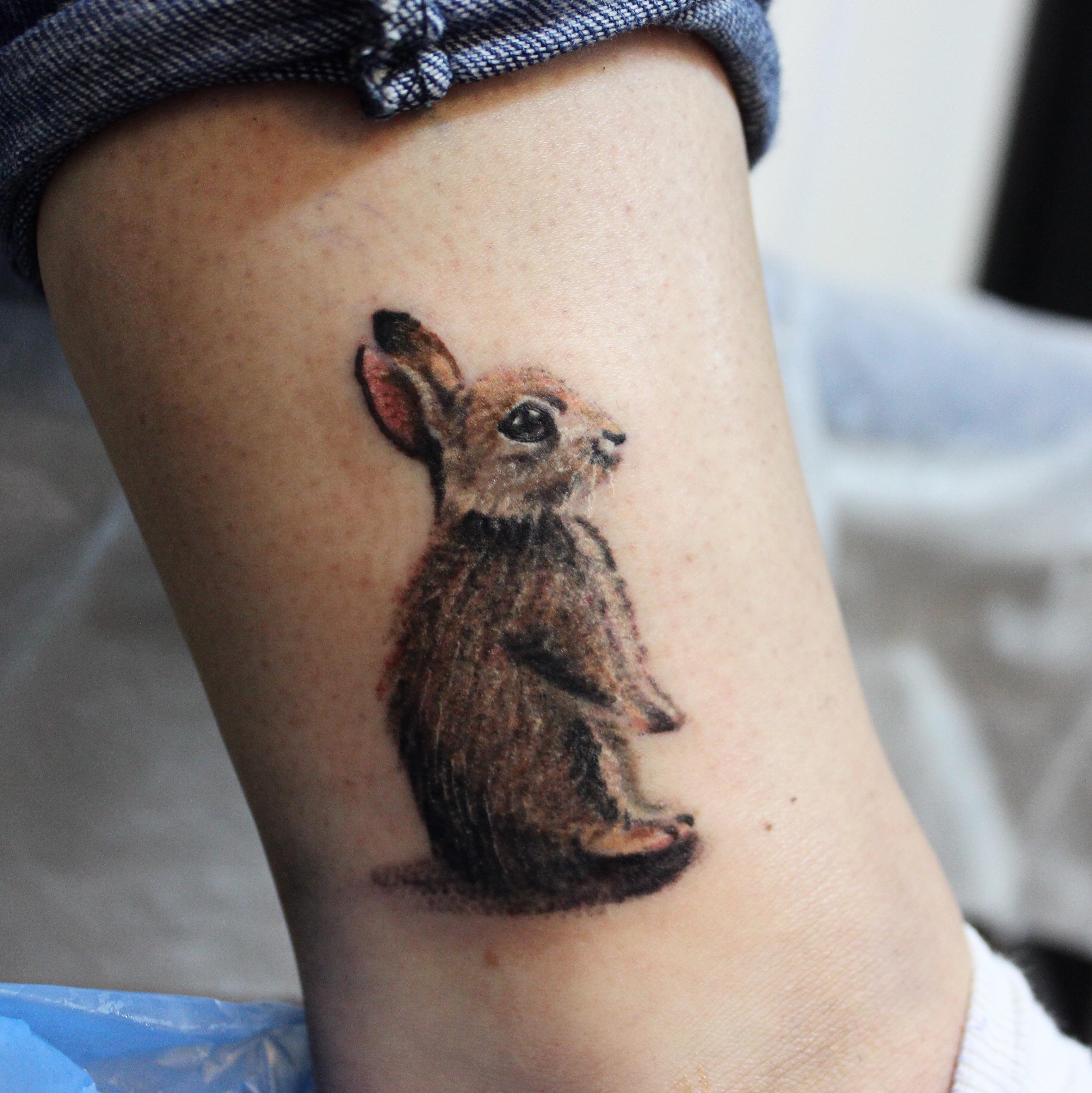f8f112d600395 Little rabbit - Tattoo.com