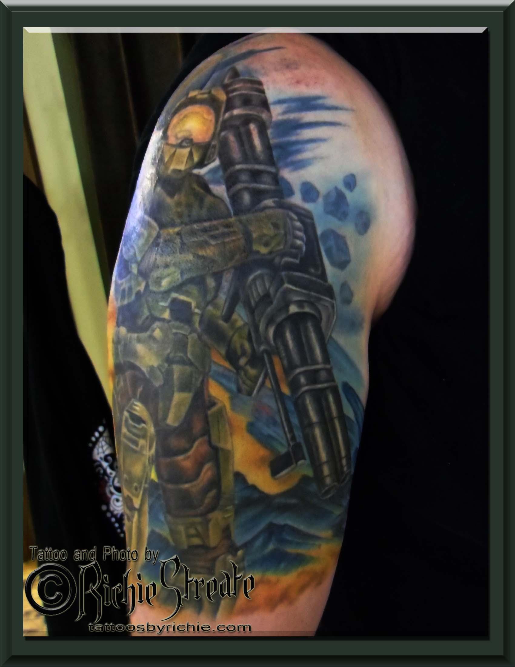 Halo 3 Master Chief Tattoo Tattoo Com