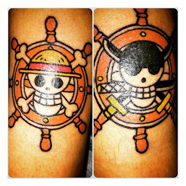 One Piece Tattoo Luffy