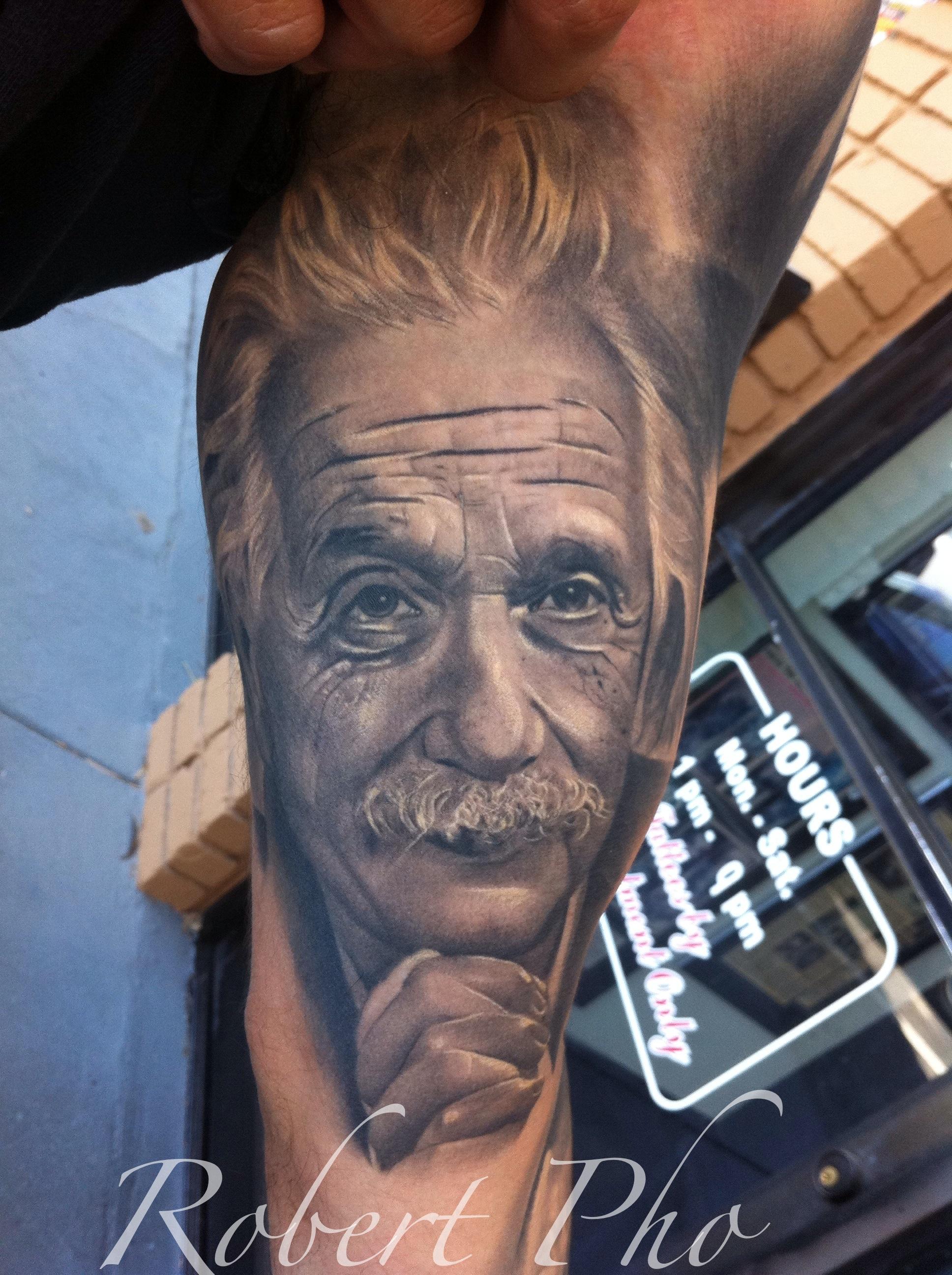 Albert Einstein Tattoocom
