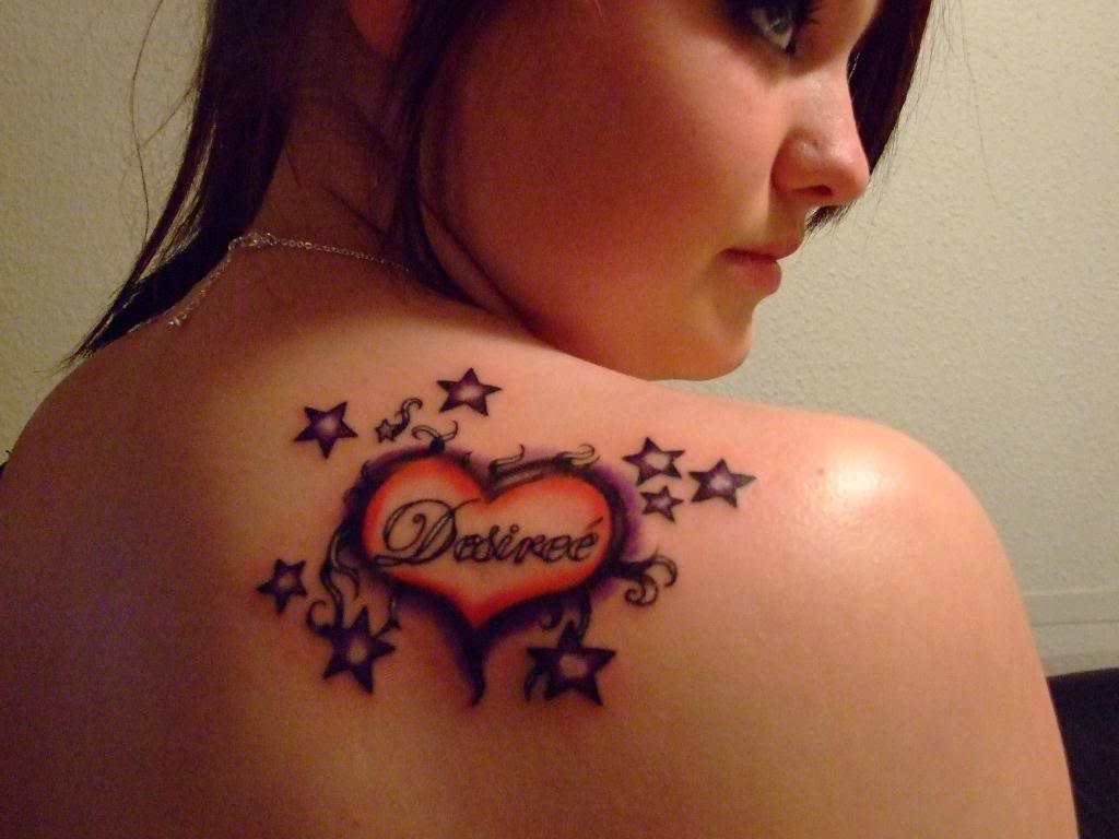 My Daughter Once This Tattoo With My Granddaughters Name Avianna In
