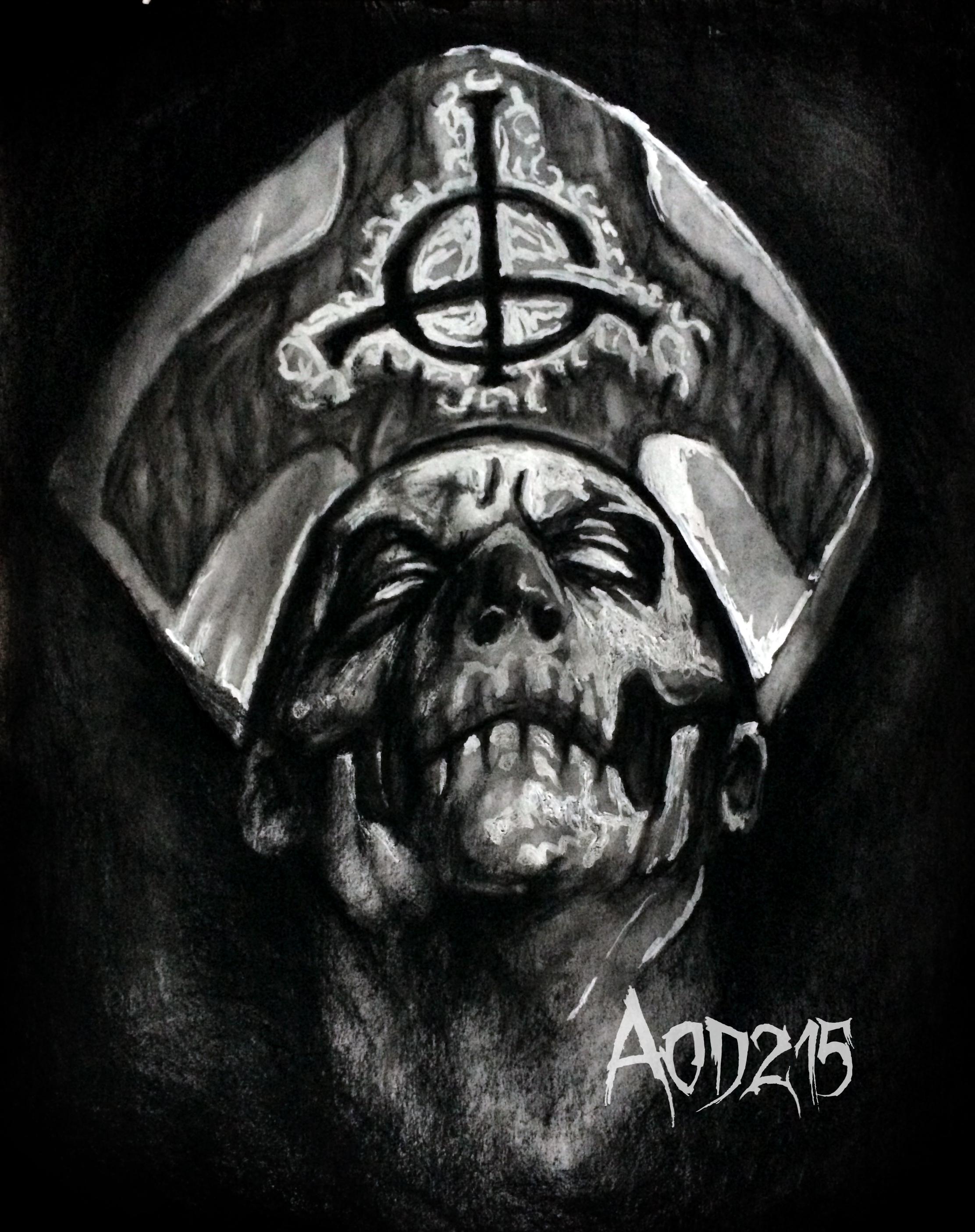 Ghost B.C. drawing - Tattoo.com