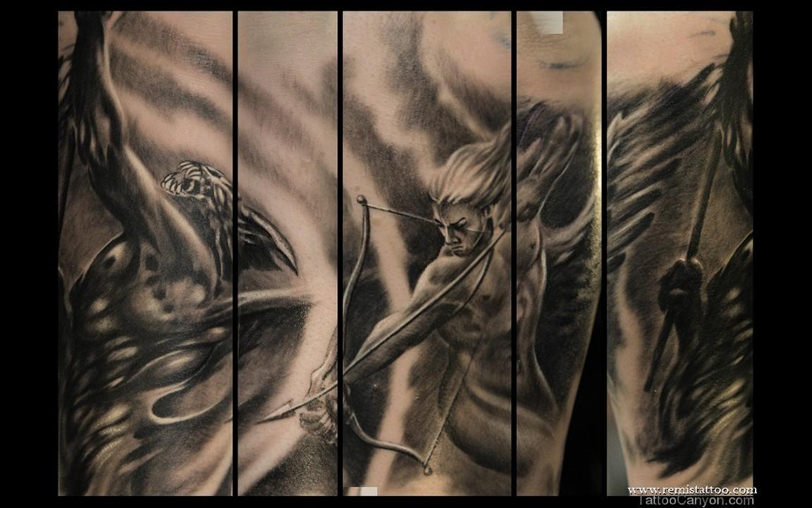 Good Vs Evil Tattoocom
