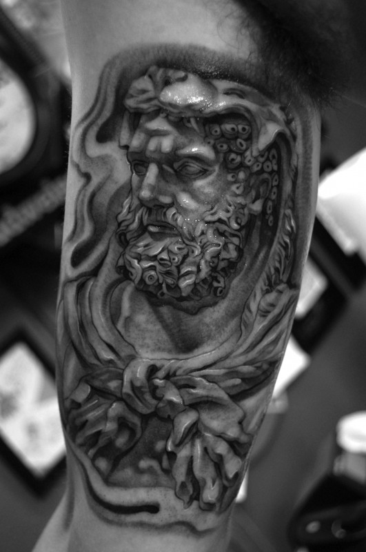 Black and White - Realist - Mythology - Icarus, Ares and ...