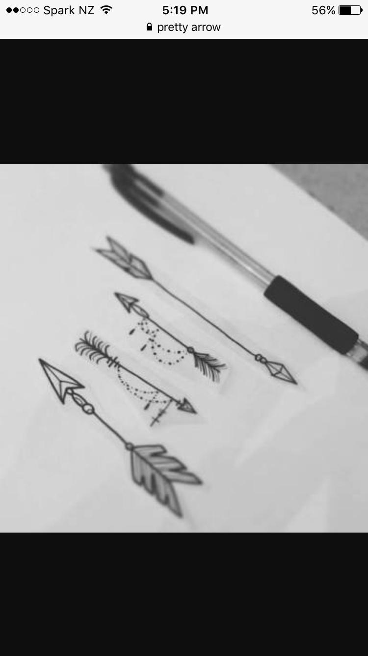 6b75e3099 Two arrows - Tattoo.com