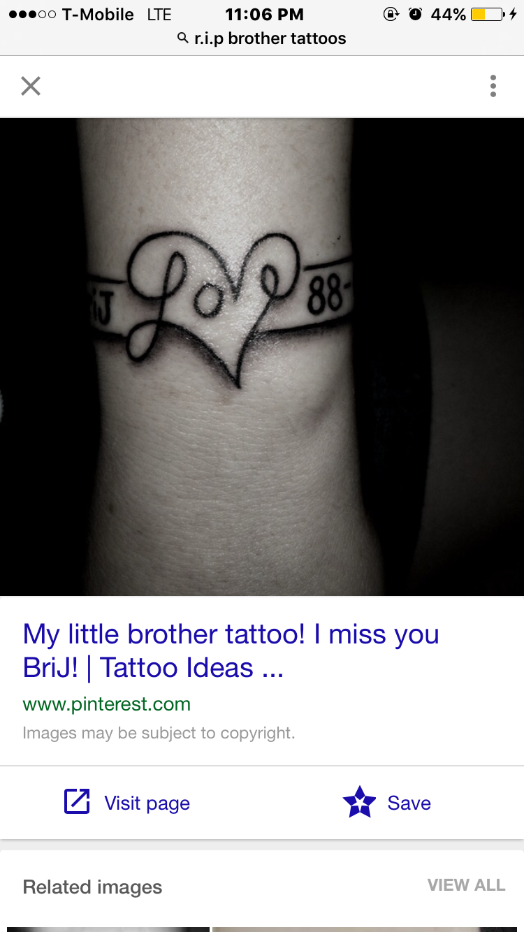 Rest In Peace Big Brother Tattoocom