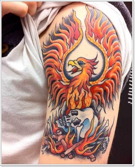 I M Looking For A Phoenix Orange Tattoo Com