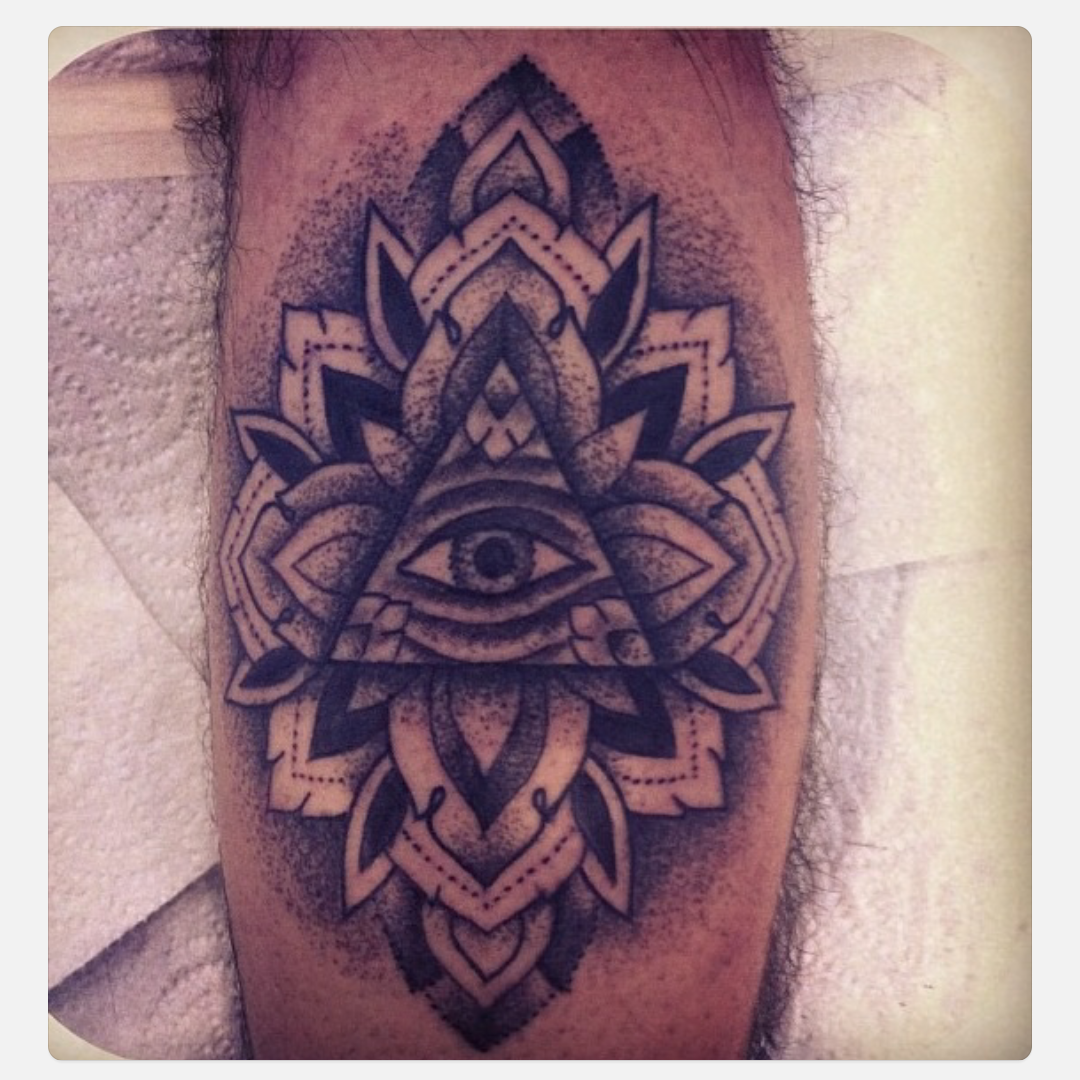 Incorporating the all seeing eye, mandala - Tattoo.com