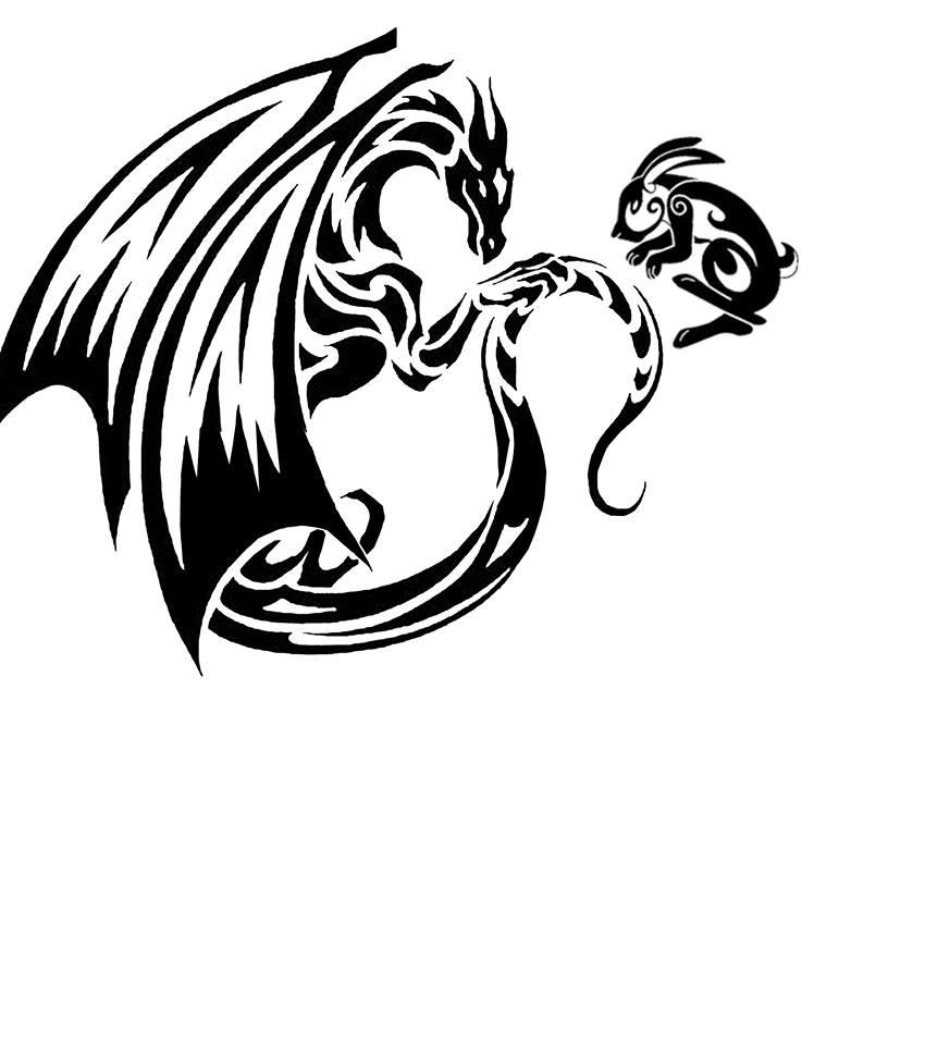 Rabbit And Dragon Tattoocom