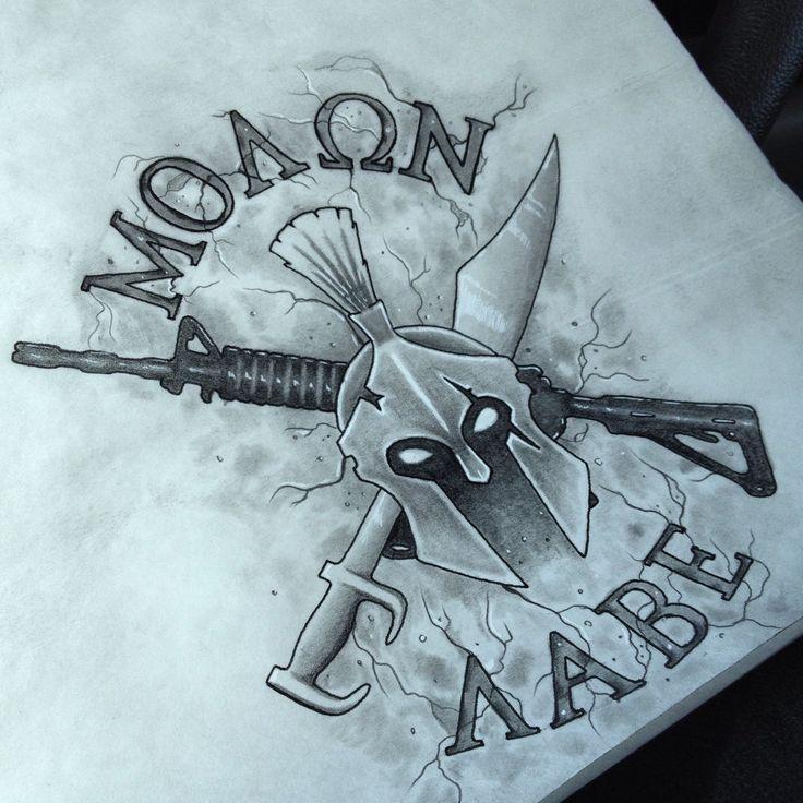 0f3d25c269f7e Molon labe spartan/military - Tattoo.com