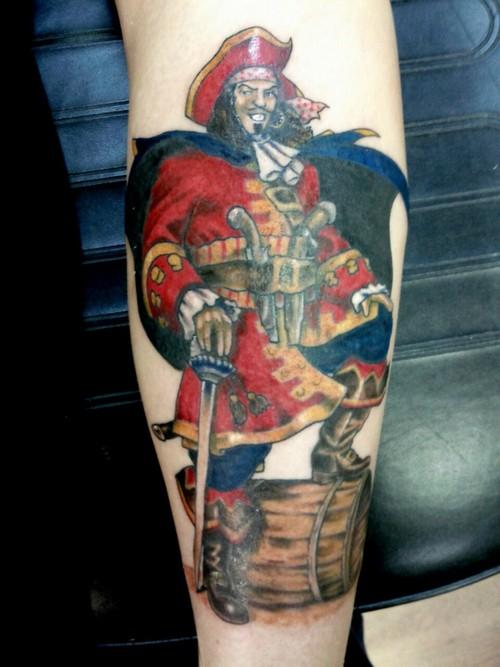 captain morgan tattoo - 500×667