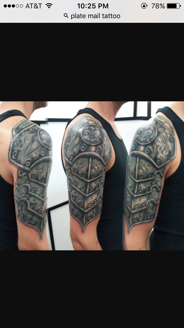 Half Sleeve Armor Tattoo Com Tattoo artist have expanded their imagination to give you incredible sleeve tattoos. half sleeve armor tattoo com