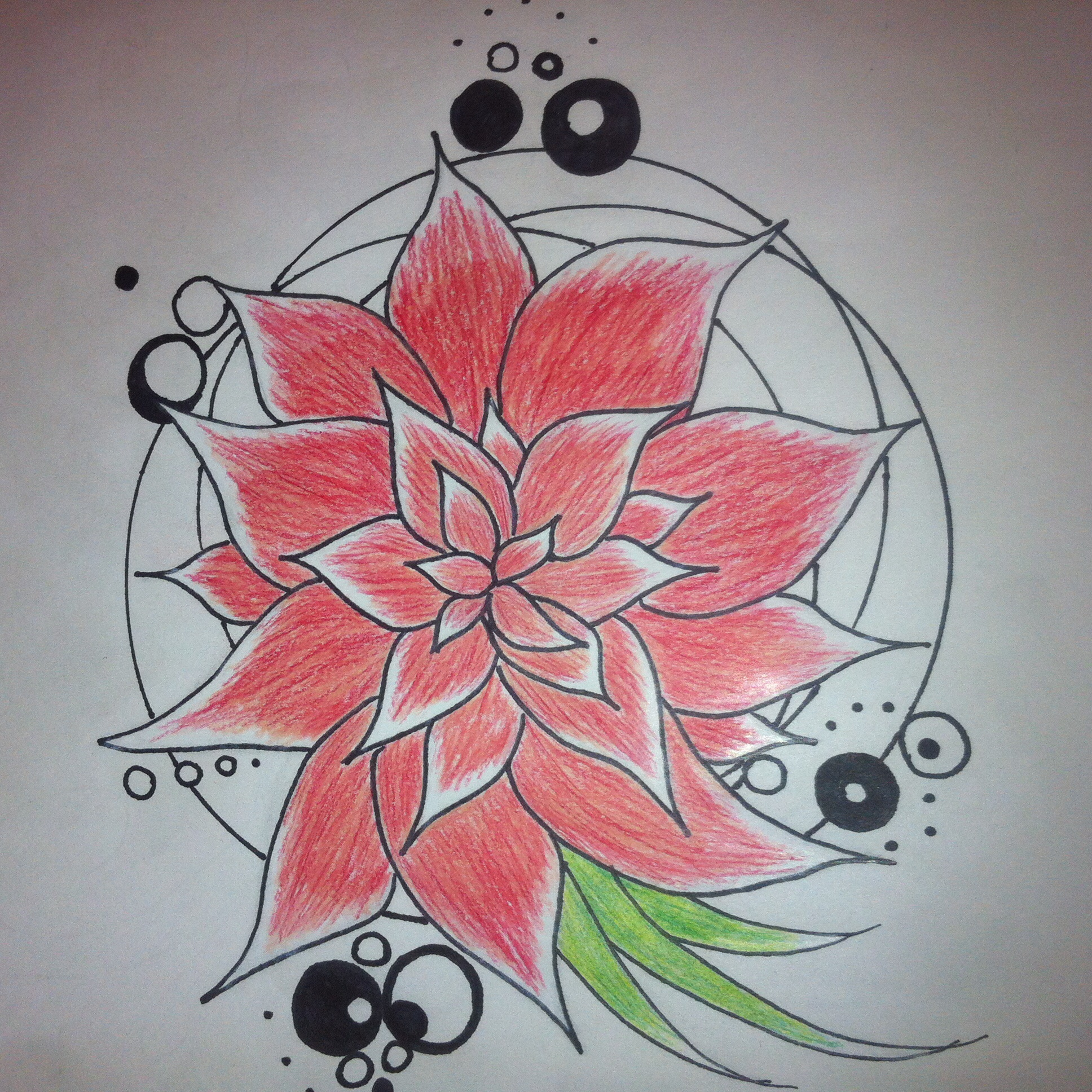 48fc1fa0f8c14 Rose garden tattoo with vine detail. The roses can - Tattoo.com