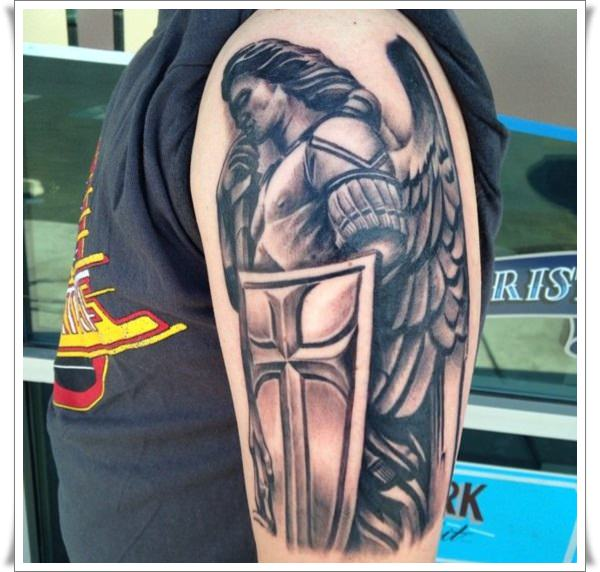Stmicheal Tattoo On Left Or Right Arm Whichever Tattoocom