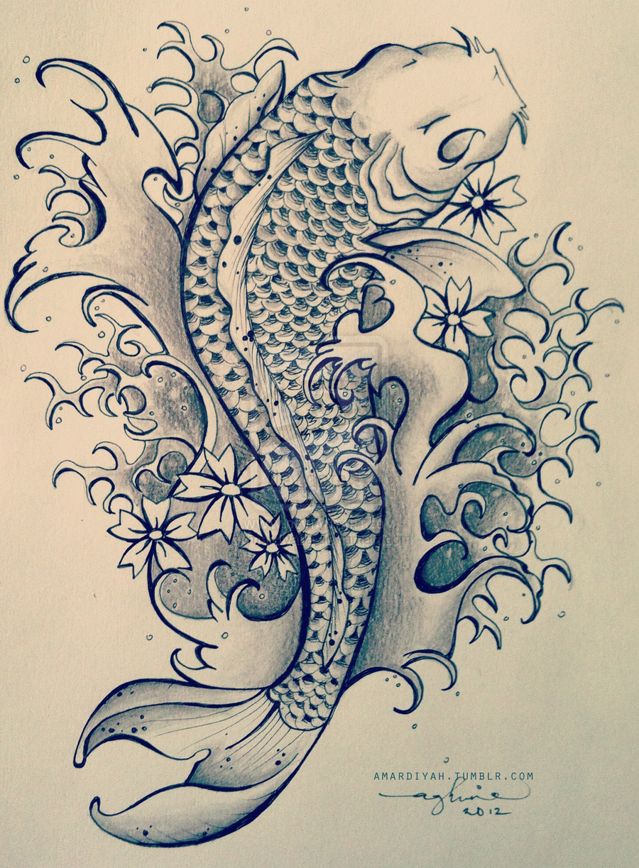 A Japanese Style Koi Fish Like The Pciture Tattoo Com