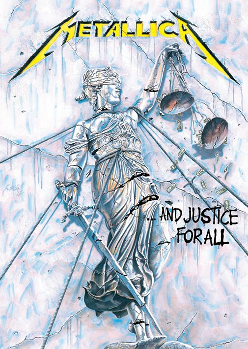Metallica S And Justice For All Crumbling Lady Tattoo Com