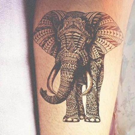 Detailed Mandala Type Tattoo Black And White Tattoo Com