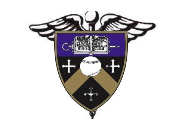 Medical Symbol School Shield Baseball Tattoo