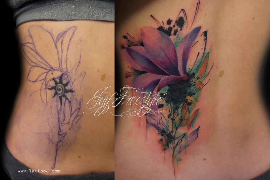 dc83e062bea0c back of shoulder owl tattoo - Tattoo.com